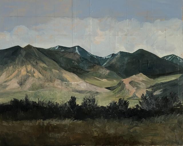 , 'The La Sal's,' 2018, Modern West Fine Art