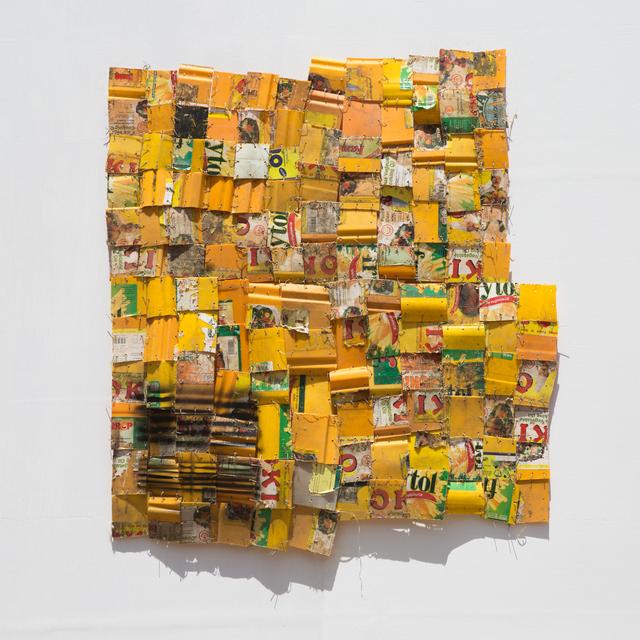Serge Attukwei Clottey, 'Daily dispatched 4', 2017, Jane Lombard Gallery