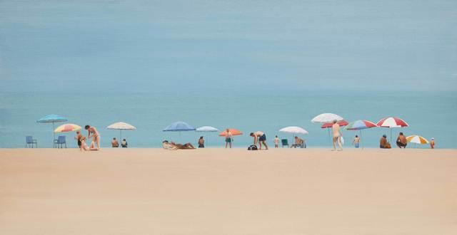 , 'Beach 3.5,' 2017, Mall Galleries