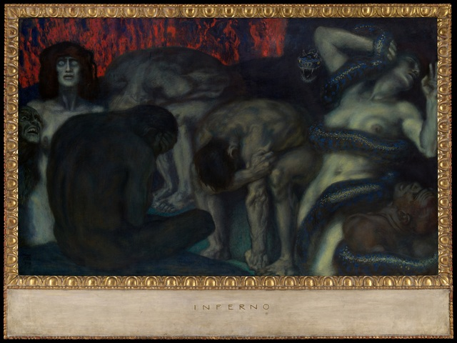 , 'Inferno,' 1908, The Metropolitan Museum of Art