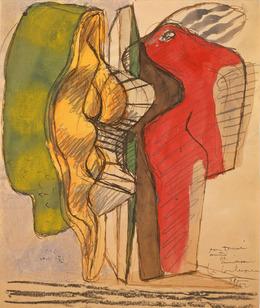 , 'Objet à réaction poétique,' ca. , Galerie Zlotowski