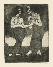 Mann und Mädchen