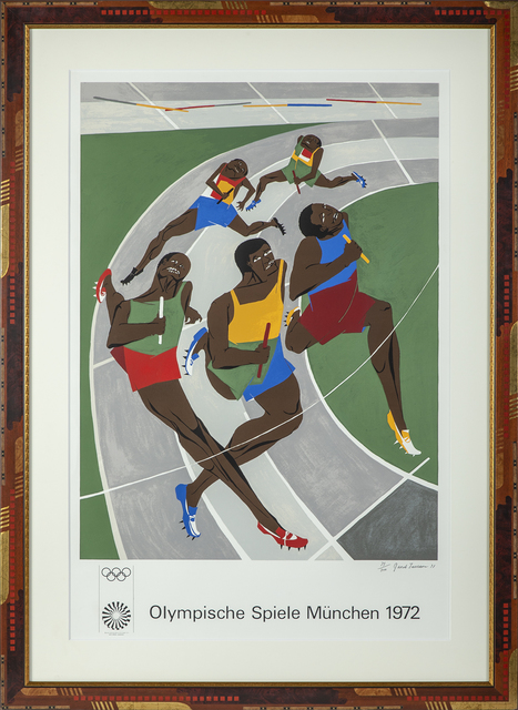 Jacob Lawrence, 'Olympics 1972 Munich Runners', 1971, Modern Artifact