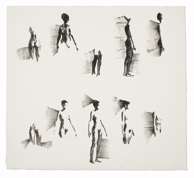 Robert Graham, 'Untitled (Figures on White Ground, Small)', 1971, Print, Lithograph, Bernard Jacobson Gallery Gallery Auction