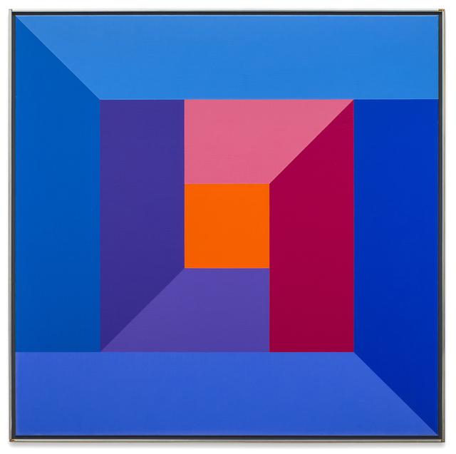 Karl Benjamin, '#7, 1974', 1974, Painting, Oil on canvas, Brian Gross Fine Art