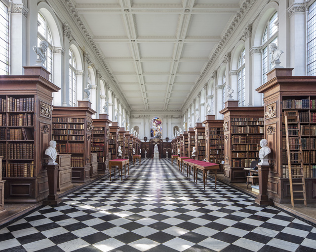 , 'Wren library, Cambridge,' 2017, K + Y Gallery