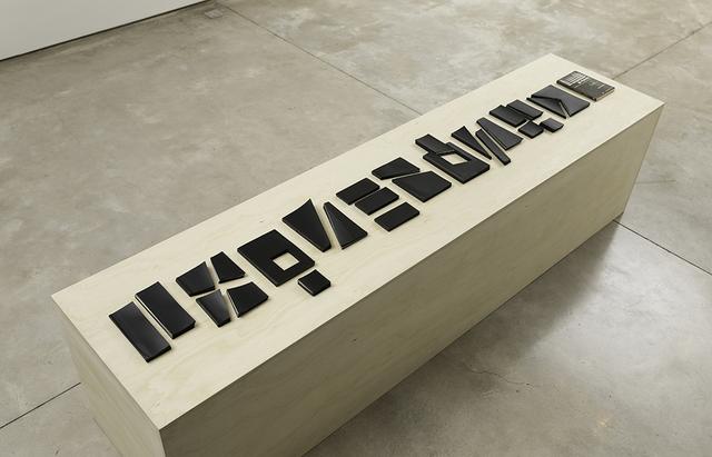 , 'Corte Inversão Movimento,' 2018, Galeria Raquel Arnaud