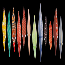 Masai (Twelve Elements), Murano, Italy