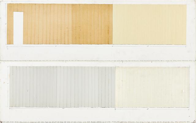 , 'Adhesive Tape Project,' 1973, Henrique Faria Fine Art