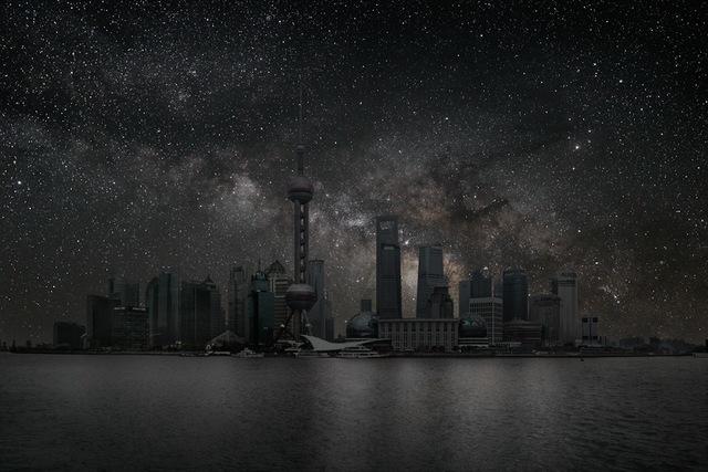 , 'Shanghai 31° 14' 39'' N 2012-03-19 Lst 14:42,' 2012, Danziger Gallery