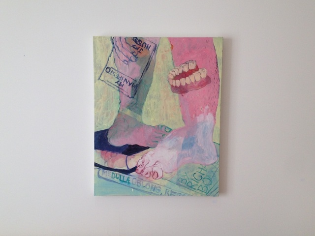 Austin Furtak-Cole, 'Medula, Oblong, Regatta', 2016, Painting, Oil on canvas, Park Place Gallery