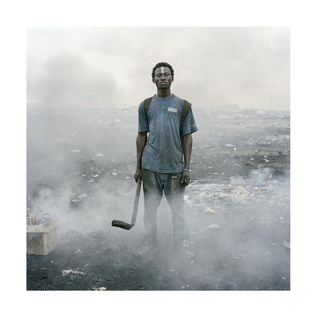 ", 'From the series ""Permanent Error"", Aissah Salifu, Agbogbloshie Market, Accra, Ghana,' 2010, PRISKA PASQUER"