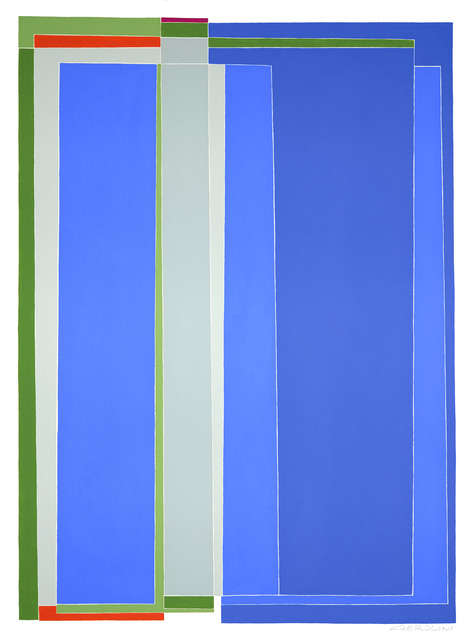 , 'Blue 2,' 2016, Art Bastion Gallery