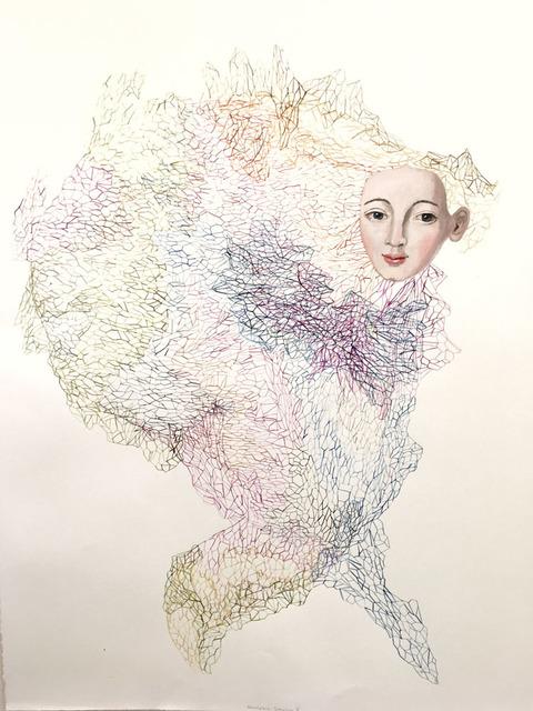 , 'Membrane Drawing,' 2017, Wally Workman Gallery