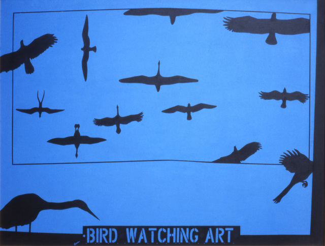 , 'Humanscape 95: Bird Watching Art,' 1978, Ruiz-Healy Art