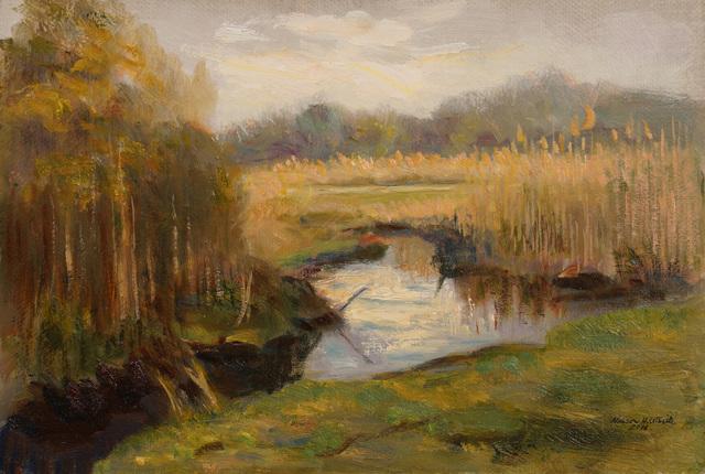 , 'The Marsh,' 2016, Grenning Gallery