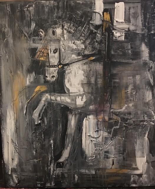 , 'Andalusian Horse,' 2019, ACCS Visual Arts