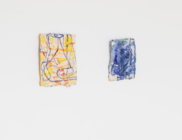 Santiago Cucullu, 'Rogue Red and Rain  Blue', 2018, Sculpture, Stoneware, Simone DeSousa Gallery