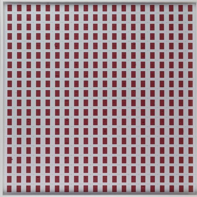 , 'Sliding on red,' 2017, Piero Atchugarry Gallery