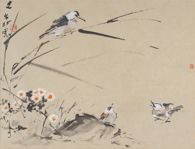 Chen Wen Hsi, 'Sparrows with Flowers', 33 Auction