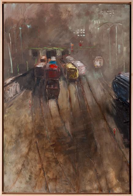 , 'Monday Morning Train,' 2013, Fountain Street