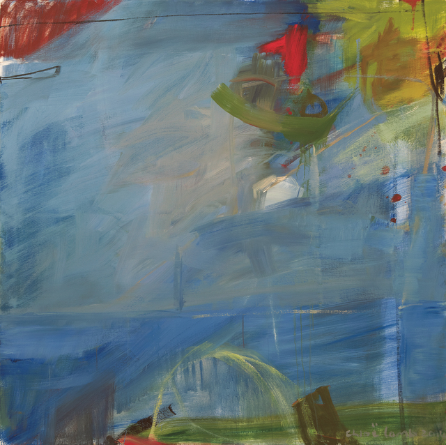 , 'Red and Blue,' 2014, Hollis Taggart Galleries