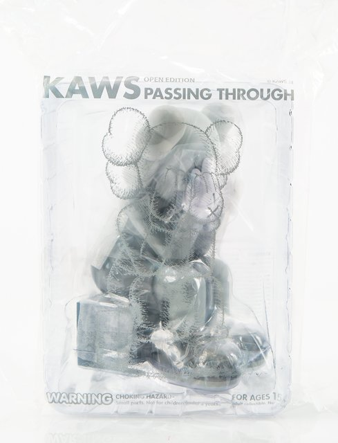 KAWS, 'Passing Through (Grey)', 2018, Other, Painted cast vinyl, Heritage Auctions