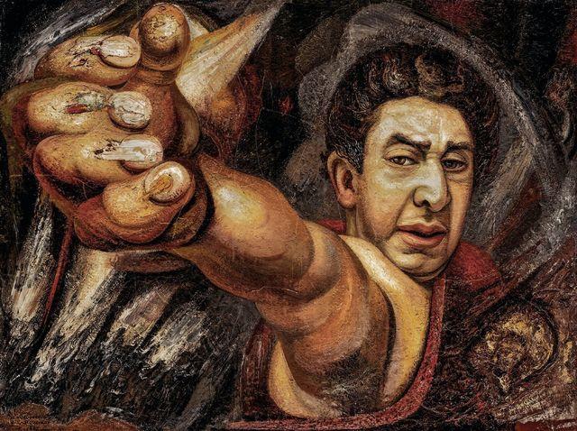 , 'Autorretrato (el coronelazo),' 1945, MALBA