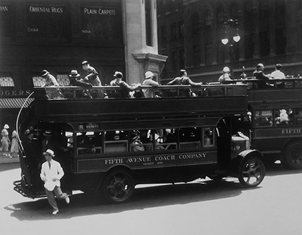 , 'Fifth Avenue Coach Company, New York,' 1932, Staley-Wise Gallery