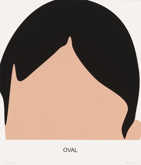 John Baldessari, 'Oval', 2016, Print, 3 color screenprint, Gemini G.E.L.