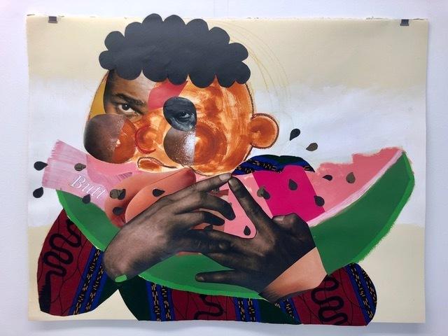 , 'Eat the Booty Like Groceries,' 2018, Mariane Ibrahim Gallery