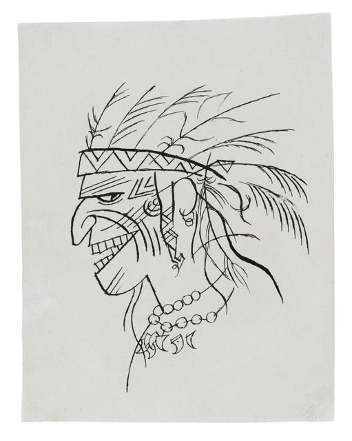 , 'Indianer,' 1920, Ludorff