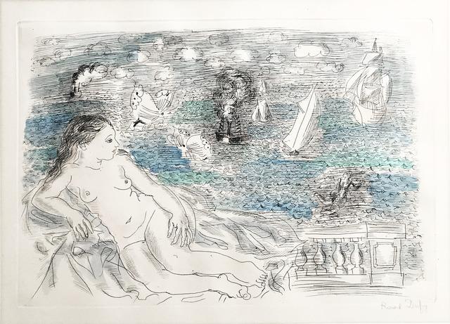 , 'Nu à la balustrade devant la Méditerranée ,' ca. 1928, Fairhead Fine Art Limited