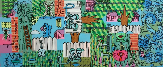 Gary Panter, 'Picket', 2003, Fredericks & Freiser