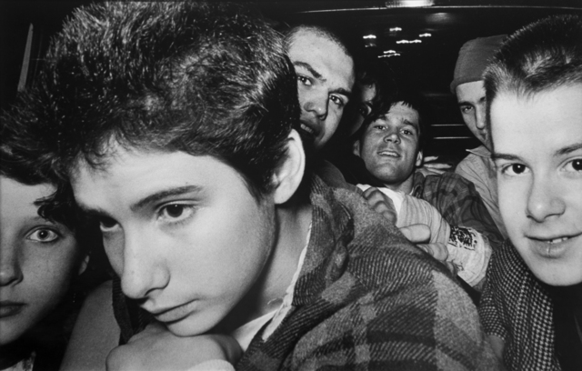 , '8 Punk Rockers [with Ad-Rock from the Beastie Boys],' 1982, Bruce Silverstein Gallery