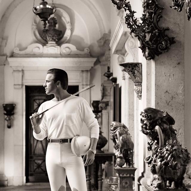 , 'Don Johnson, Polo Clothes, Miami,' 1986, Fahey/Klein Gallery