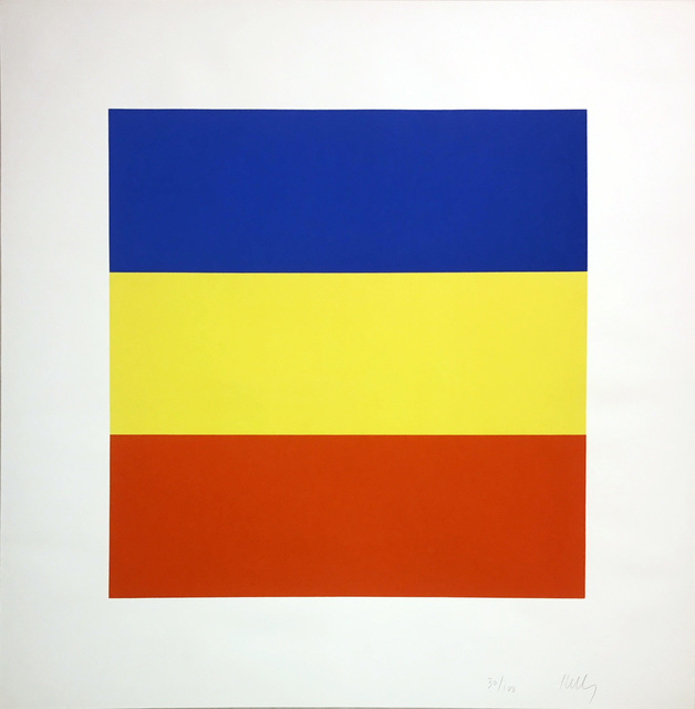 Ellsworth Kelly, 'Blue/Yellow/Red (Untitled)', 1970-1973, Hamilton-Selway Fine Art