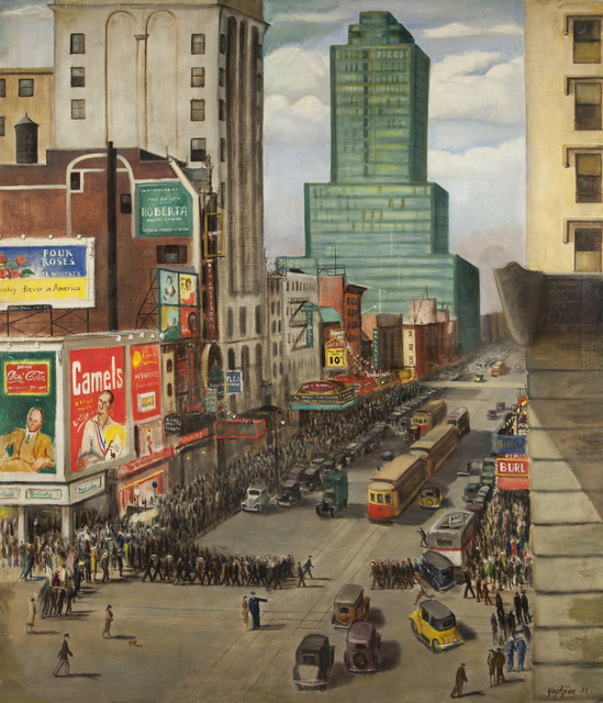 , '42 Street West of Broadway,' 1934, ACA Galleries
