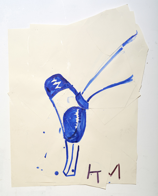 , 'Blue Shoe with Shine (KM),' 2015, Willas Contemporary