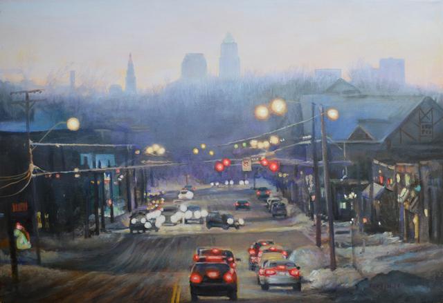 John Troxell, 'Cedar Fairmont in Winter', The Bonfoey Gallery