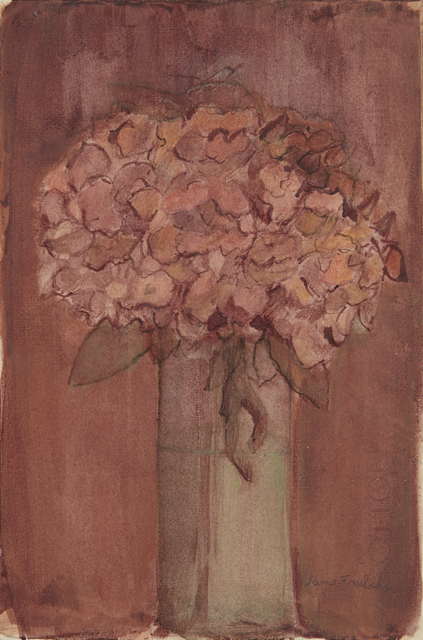 , 'Still Life with Hydrangeas,' ca. 1990, Tibor de Nagy