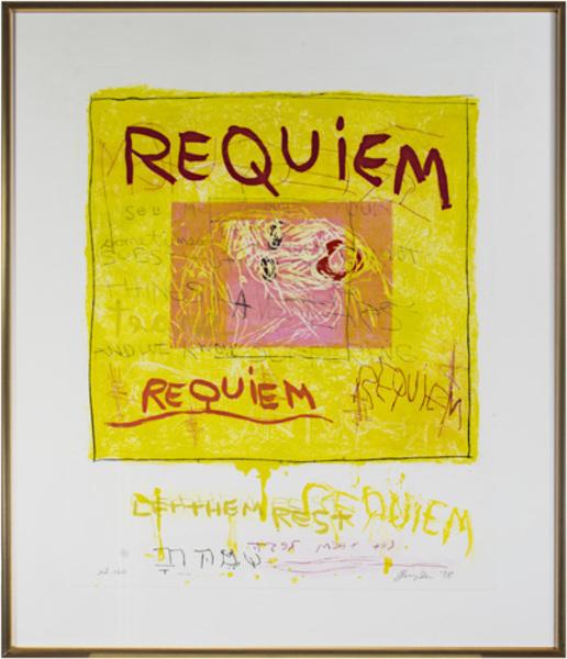 Joan Snyder, 'Requiem', 1998, David Barnett Gallery