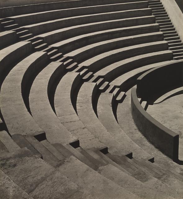 , 'Mills College Amphitheatre,' 1920, San Francisco Museum of Modern Art (SFMOMA)