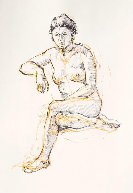 , 'Figure Study,' 2014, Flow 305