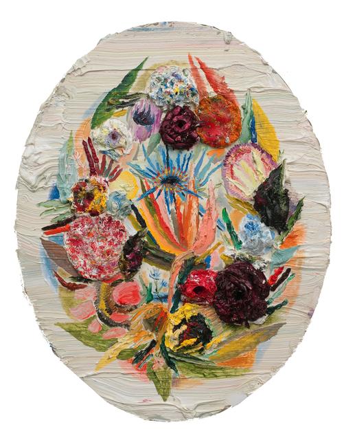 , 'Oval Flowers,' 2011, ZieherSmith