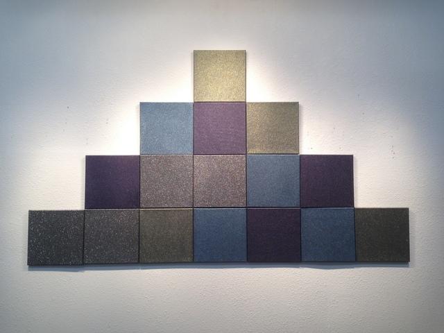 , '1 cubic foot (pyramid configuration),' 2018, Michael Warren Contemporary