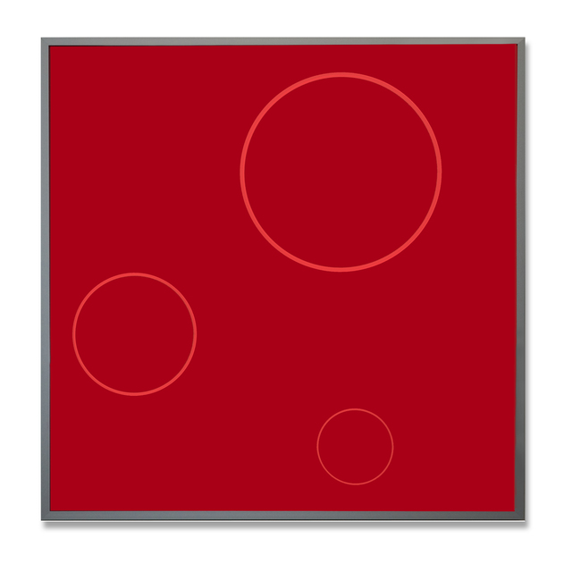 , 'Progressive Kreise,' 2018, Galerie La Ligne