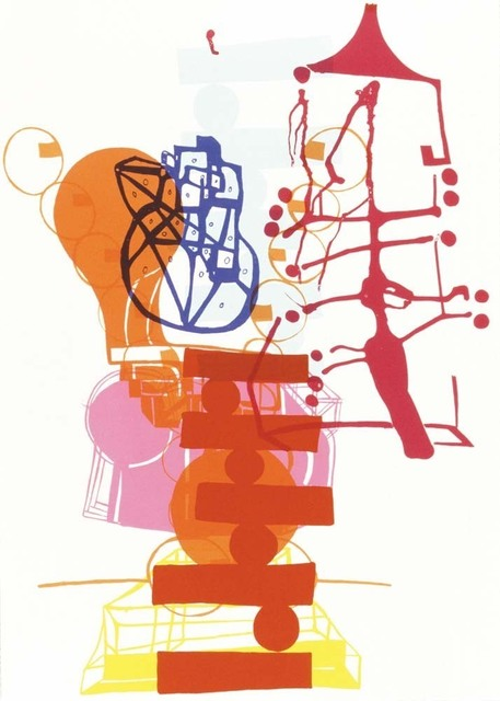 Joanne Greenbaum, 'Untitled Outtakes: #10', 2002, Lower East Side Printshop