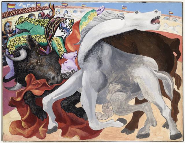 , 'Corrida : la mort du toréro,' 1933, Musée Picasso Paris