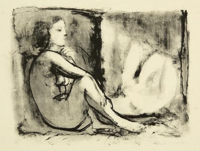 Pablo Picasso, 'Les deux femmes nues', 1945, John Szoke
